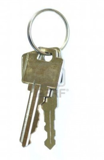 2442487-key-ring-with-two-keys-isolated-on-white